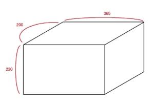 4.5畳 トランクルーム 目安図