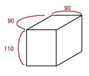 トランクルーム サイズ 目安 0.5畳