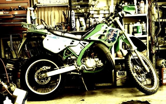バイクガレージの写真